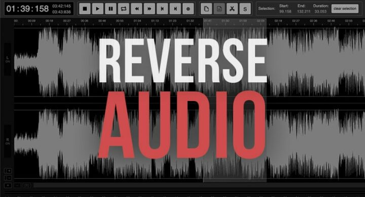 Reverse Audio Online for Free