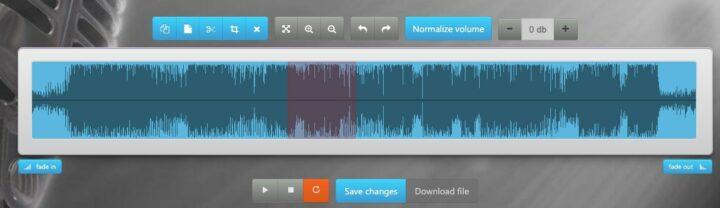 Normalize Audio Online