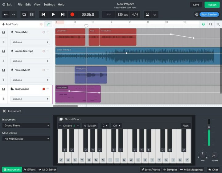 BandLab - Online Free Music Production Software