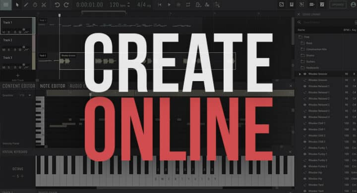 Best Apps to Make Music Online for Free