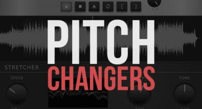 14 Free Online Pitch Changers & Pitch Shifters