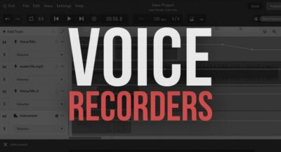 15 Free Online Voice Recorders to Record Audio Online Fast