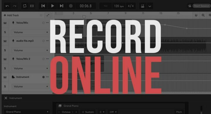 Free Apps to Record Music Online