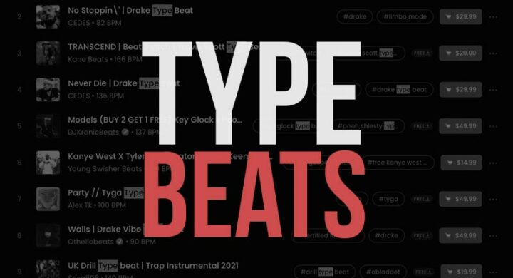 What Are Type Beats Instrumentals